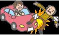 歩行中および自転車などを運転中の自動車事故